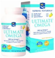 Nordic Naturals Ultimate Omega Soft Gels 120 Count