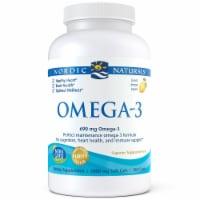 Nordic Naturals Omega-3 Fish Oil Lemon Soft Gels - 180 ct
