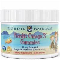Nordic Naturals Tangerine Nordic Omega-3 Gummies - 60 ct
