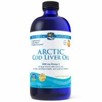 Nordic Naturals Arctic Orange Flavor Cod Liver Oil - 16 fl oz