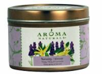 Aroma Naturals  Soy VegePure® Candle Serenity Ylang Ylang and Lavender