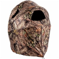 Plano AMEBL2003 Ameristep Outdoor 2 Person Deluxe Tent Chair Blind, Camouflage - 1 Unit