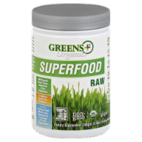 Greens Plus Organics Superfood Raw