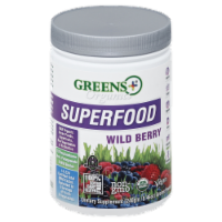 Greens Plus Organics Superfood Wild Berry
