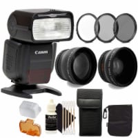 Canon Speedlite 430ex Iii-rt Flash With Accessories For Canon 750d , 760d , 1200d And 1300d - 1