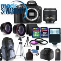 Nikon D5300 Digital Slr Camera With 18-55mm Vr Lens And 15 Piece Accessory Kit