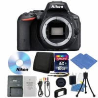 Nikon D5500 24.1mp Cmos Digital Slr Camera Body With Accessory Kit - 1