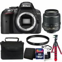 Nikon D5300 Digital Slr Camera With 18-55mm Vr Af-p Dx Nikkor Lens And Accessories - 1