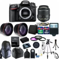 Nikon D7200 Dslr Camera With 18-55mm Vr Lens And Accessory Kit - 1