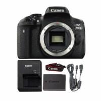 Canon Eos 750d / T6i 24.2mp Digital Slr Camera Body - 1