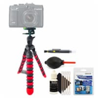 Flexible Tripod With Cleaning Kit For All Digital Cameras - 1