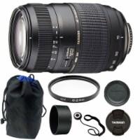 Tamron 70-300mm F4-5.6 Di Ld Macro Autofocus Lens For Nikon + 62mm Accessory Kit