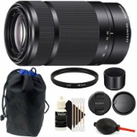 Sony E 55-210mm F4.5-6.3 Lens Black With Accessory Kit For Sony E-mount Cameras