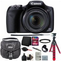 Canon Powershot Sx530 Hs 16mp Wifi Digital Camera With 64gb Accessory Kit Black - 1