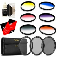 Vivitar 52mm Rotating Graduated 6pc Filter With Top Accessory Bundle - 1