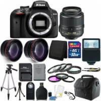 Nikon D3400 Digital Slr Camera With 18-55mm Lens And 14 Piece Accessory Kit - 1