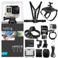 Gopro Hero4 Black Edition Hd Camera Camcorder With Kit - 1