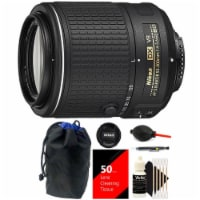 Nikon Af-s Dx Nikkor 55-200mm F/4-5.6g Ed Vr Ii Zoom Lens With Cleaning Kit