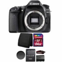 Canon Eos 80d 24.2mp Digital Slr Camera Body With Accessories - 1