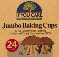 If You Care Unbleached Jumbo Baking Cups