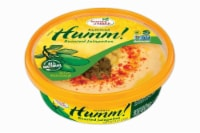 Fountain of Health® Humm! Roasted Jalapenos Hummus - 9 oz