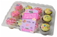 Two-Bite Spring Day Assorted Cupcakes