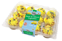 Two-Bite Back2School Vanilla Cupcakes