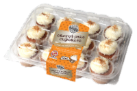 Two-Bite Mini Carrot Cake Premium Cupcakes