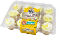 Two-Bite Lemon Zing Cupcakes