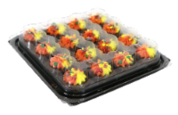 Two-Bite Autumn Brownie Party Platter