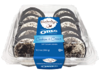 Kimberley's Bakeshoppe Oreo Cookies and Cream Frosted Cookies