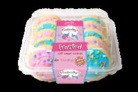 Kimberley's Bakeshoppe Vanilla Frosted Unicorn Soft Sugar Cookies