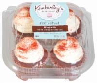 Kimberley's Bakeshoppe Red Velvet Cupcakes 4 Count