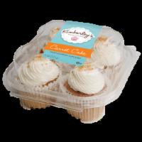 Kimberley's Bakeshoppe Carrot Cake Filled Gourmet Cupcakes
