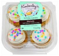 Kimberley's Bakeshoppe Birthday Cupcakes - 4 ct
