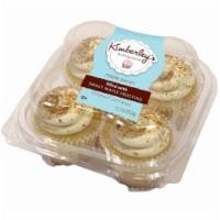 Kimberley's Bakeshoppe Maple Pecan Cupcakes 4 Count - 11.7 oz