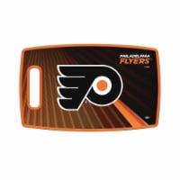 Sports Vault LBNHL22 14 x 9 in. NHL Philadelphia Flyers Large Cutting Board - 1