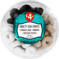 Variety Gem Donuts Party Tray