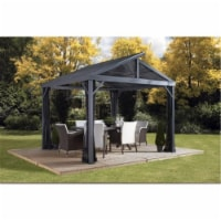 Sojag 500-9162806 8 x 8 ft. Sanibel No.93LLL Gazebo Steel Roof