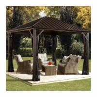 Sojag 8 x 8 ft. Dakota No.53 Gazebo Steel Roof