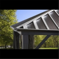Sojag 500-9165012 10 x 10 ft. Dakota No.53 Gazebo Steel Roof
