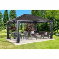 Sojag 500-9165067 12 x 12 ft. Genova II No.53 Gazebo Steel Roof