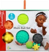 Infantino Textured Multi Ball Set Infant Toy