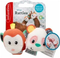 Infantino Wrist Rattles Infant Toy
