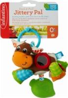 Infantino Peek & Pull Jittery Pal Infant Toy