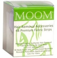 Moom Hair Removal Accessories Fabric Strips
