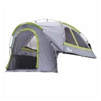 Napier 19 Series Backroadz Full Size Regular Bed 2 Person Truck Tent, Gray/Green - 1 Piece