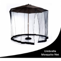 Mesh Mosquito Screen Canopy for up to 9' Patio Umbrella - 1