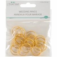 Wedding Rings .75  24/Pkg-Gold - 1