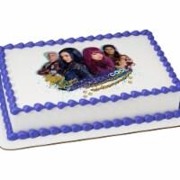 BuySeasons 267113 Disney Descendants 2 Wicked Cool Quarter Sheet Edible Cake Topper